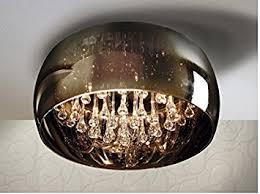 modern ceiling light model argos in colour chrome amazon co uk