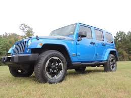 hydro blue jeep 2014 jeep jk 4 door hydro blue texas truck works