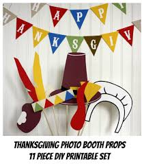 thanksgiving props thanksgiving photo booth props photo props printable 11