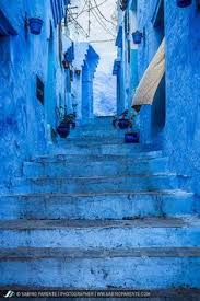 blue city morocco blue stairs chefchaouen the blue city chefchaouen morocco