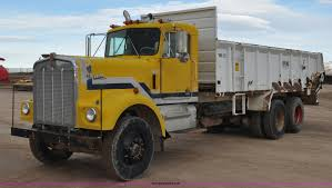 kenworth w900l for sale 1977 kenworth w900 manure spreader truck item g7137 sold