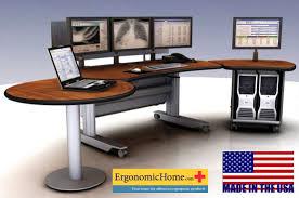 pacs workstation ergonomic radiology furniture imaging