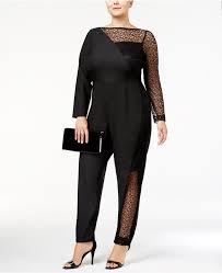 trendy jumpsuits monif c trendy illusion lace jumpsuit plus size jumpsuits
