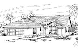 Mediterranean House Plan Mediterranean House Plans Quincy 11 017 Associated Designs