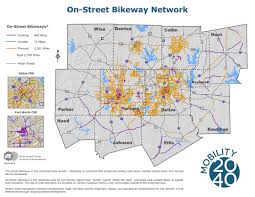 Ft Worth Map The Veloweb And Bicycle Commuting Nctcog Org