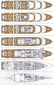 yacht floor plans 86m superyacht