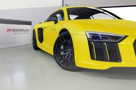 Audi R8 Yellow - sunflower matt metallic audi r8 v10 plus by fostla de gtspirit