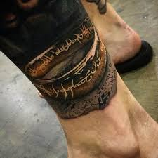 20 lord of the rings tattoos that are precious tattoodo