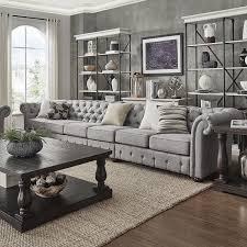 Chesterfield Sectional Sofa Furniture Shop Radhe Furniture Ahmedabad
