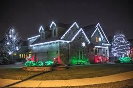 ideas for christmas lights on house