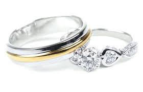 2 wedding rings rings for wedding ceremony 2 wedding rings ceremony blushingblonde