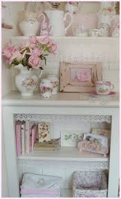lace on ends of shelfs bedroom pinterest shabby bedrooms