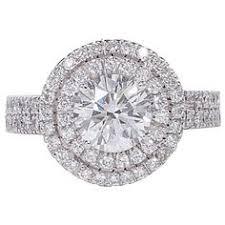 bjs wedding rings bj s ring 1 50 t w diamond halo engagement
