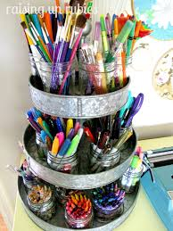 crafting markers pencils pens crayons scissors etc storage