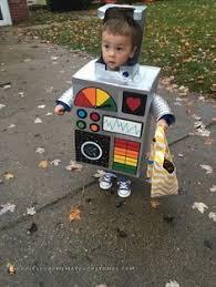 Kids Robot Halloween Costume Homemade Kids Robot Costume Costume Pop Toddler Halloween