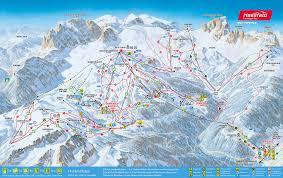 Alps On A Map Pistenplan Nassfeld Pressegger See Skigebietsplan Nassfeld