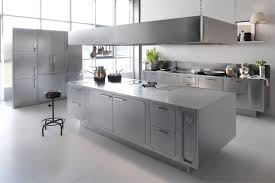 Kitchen Cabinets Stainless Steel Italian Designed Ergonomic And Hygienic Stainless Steel Kitchen