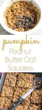 gluten and dairy free thanksgiving recipes have a look at pumpkin peanut butter oat squares it u0027s so easy to
