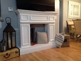 fake it til you make it the making of a faux fireplace