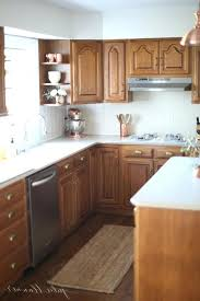 updating oak cabinets in kitchen updating oak kitchen cabinets without painting bloomingcactus me