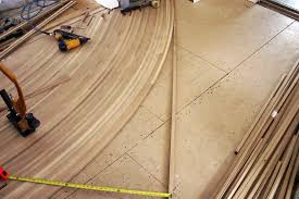 bent wood floors cut wood flooring