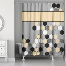 buy yellow and grey shower curtains from bed bath u0026 beyond