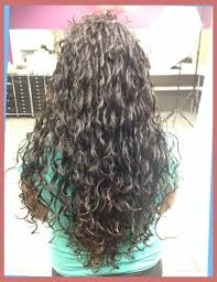 loose curl perm long hair spiral perms for long hair before and after right hs