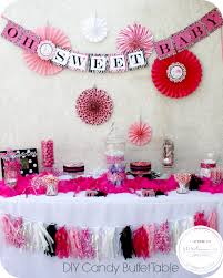diy baby shower candy buffet project nursery