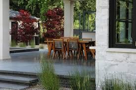 Backyard Shade Ideas Patio Shade Ideas Landscape Modern With Stone Patio Ornamental