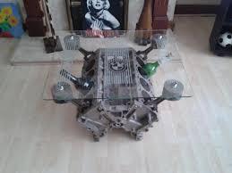 bmw v8 engine coffee tables uk
