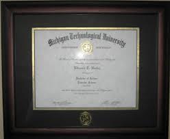 tech diploma frame diploma frame