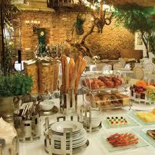 breakfast buffet display rosseto