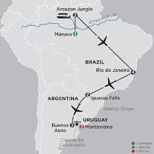Amazon Rainforest Map Amazon Tours In Brazil Cosmos Affordable Tours