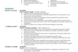 Forklift Operator Resume Examples by Production Operator Resume Sample Entry Level Reentrycorps