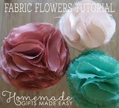 fabric flowers to make fabric flowers