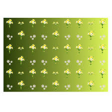 pretty wrapping paper unique pretty yellow daffodil gift wrapping paper size a3 297x420mm