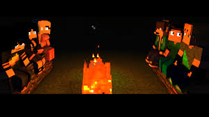 campfire halloween animation wallpaper 4k wallpapers and art