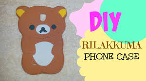 Cheap Sheets Diy Rilakkuma Phone Case From Scratch Using Foam Sheets Easy