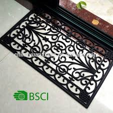 Wrought Iron Rubber Doormat Iron Rubber Mat Source Quality Iron Rubber Mat From Global Iron