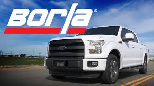 Ford F150 Truck Hats - borla exhaust for 2015 16 f 150 2 7l ecoboost trucks youtube