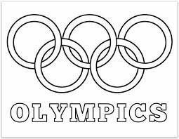 colored olympic rings images Olympic rings printable coloring pages daycare fun pinterest jpg