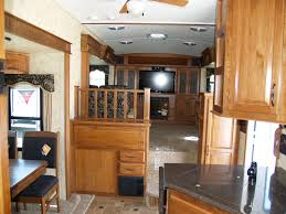Montana Rv Floor Plans by View Interior Forest River Sierra 379flok Front Living Room Fifth