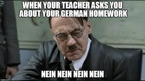 Ten Guy Meme - list of synonyms and antonyms of the word hitler nein meme