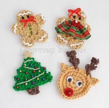 crocheted christmas christmas appliques christmas applique crochet christmas and