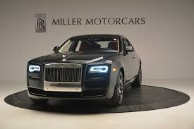matte gray rolls royce 2017 rolls royce ghost stock r402 for sale near greenwich ct