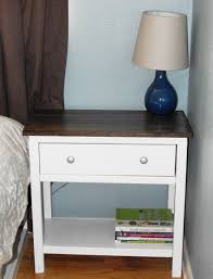 Diy Murphy Desk by Nightstand Dazzling Bedroom Side Tables Within Good Ana White