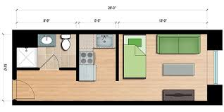 450 sq ft apartment design developer thinks small for re use of downtown u0027s 2 7 million square