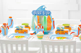surfing themed birthday party