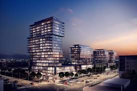 cineplex queensway riocan proposes four buildings at queensway and islington urban