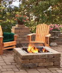 pit fires this is our 34x34 square fire pit materials needed 34 7x14